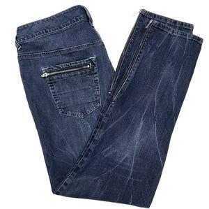 Lane Bryant Slim Fit Zipper Ankle Jean SZ 18W